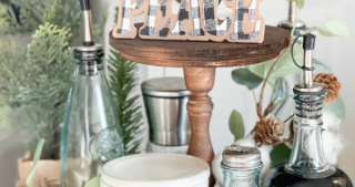 DIY Tiered Tray for Home Decor