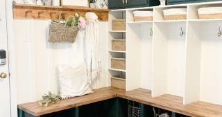 DIY Mudroom: Final Reveal, Styling and FAQ's