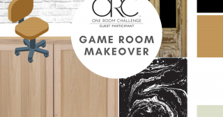 Game Room Makeover: Fall One Room Challenge 2021 (Week 1)